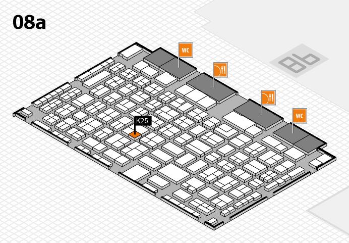 COMPAMED 2016 Hallenplan (Halle 8a): Stand K25
