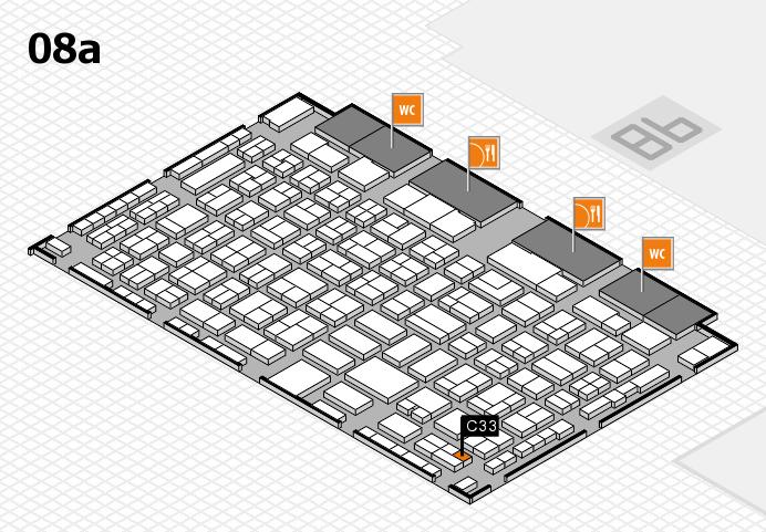 COMPAMED 2016 Hallenplan (Halle 8a): Stand C33