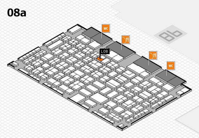 COMPAMED 2016 Hallenplan (Halle 8a): Stand L08