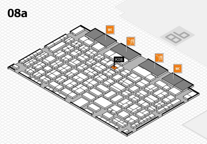 COMPAMED 2016 Hallenplan (Halle 8a): Stand K08