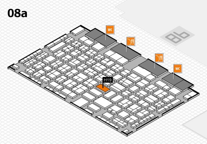 COMPAMED 2016 Hallenplan (Halle 8a): Stand H19