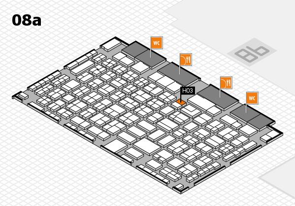 COMPAMED 2016 Hallenplan (Halle 8a): Stand H03