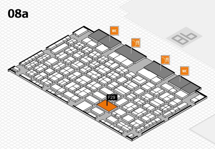 COMPAMED 2016 Hallenplan (Halle 8a): Stand F29