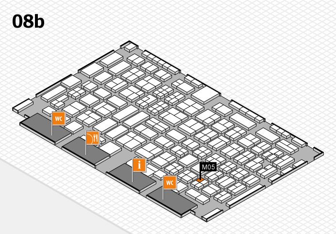 COMPAMED 2016 Hallenplan (Halle 8b): Stand M05