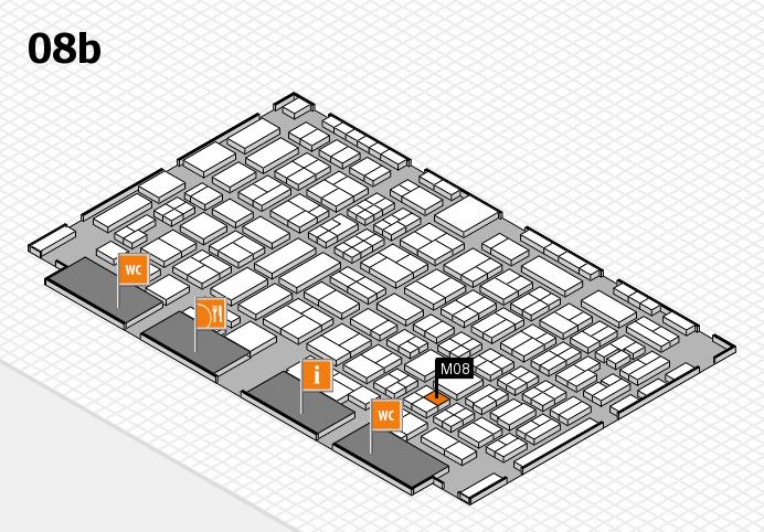 COMPAMED 2016 Hallenplan (Halle 8b): Stand M08