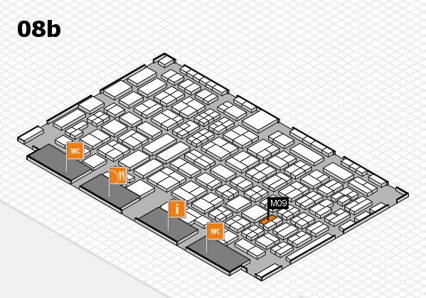 COMPAMED 2016 Hallenplan (Halle 8b): Stand M09