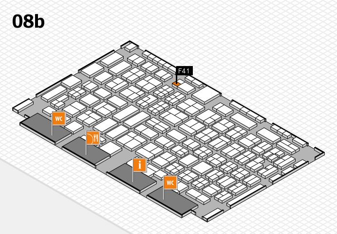 COMPAMED 2016 Hallenplan (Halle 8b): Stand F41