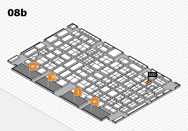 COMPAMED 2016 Hallenplan (Halle 8b): Stand N30