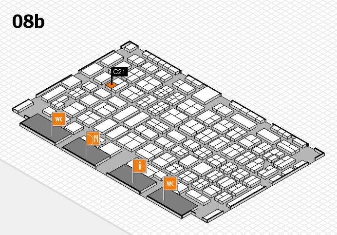 COMPAMED 2016 Hallenplan (Halle 8b): Stand C21