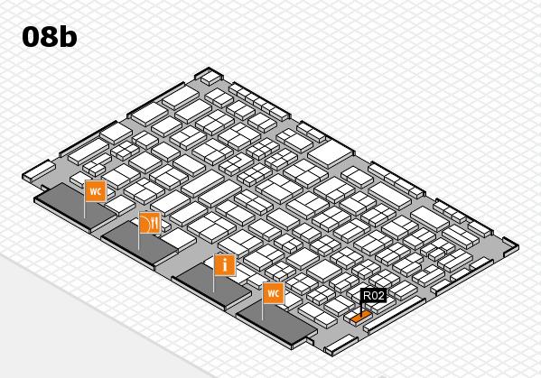 COMPAMED 2016 Hallenplan (Halle 8b): Stand R02