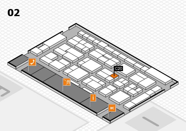 MEDICA 2016 Hallenplan (Halle 2): Stand C20