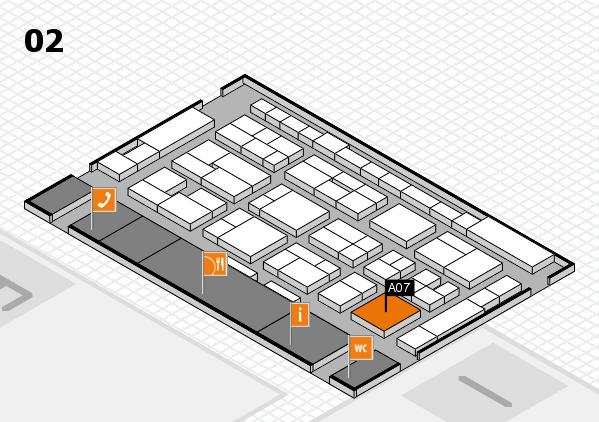 MEDICA 2016 hall map (Hall 2): stand A07