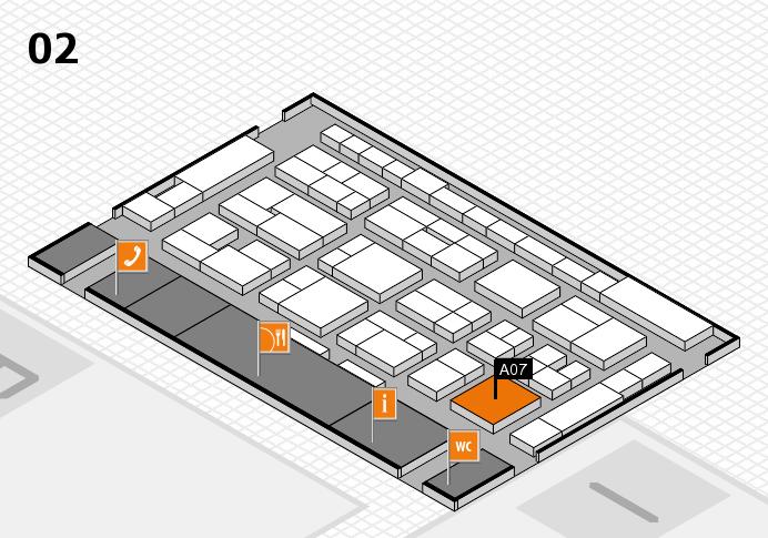 MEDICA 2016 Hallenplan (Halle 2): Stand A07