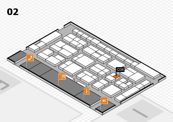 MEDICA 2016 Hallenplan (Halle 2): Stand C06