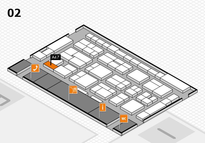 MEDICA 2016 Hallenplan (Halle 2): Stand A47