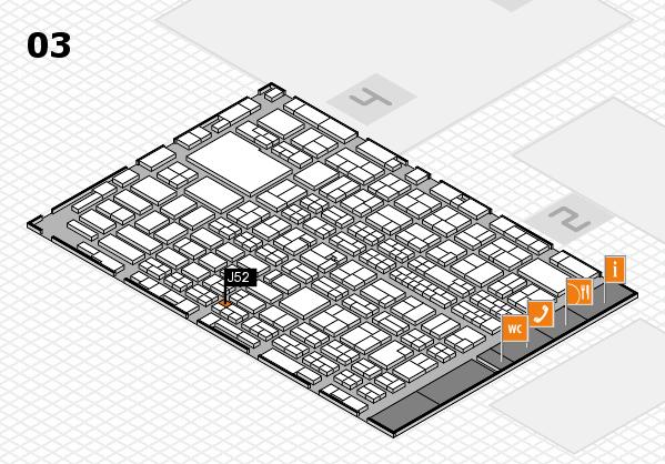 MEDICA 2016 hall map (Hall 3): stand J52