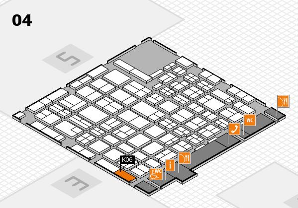 MEDICA 2016 hall map (Hall 4): stand K06