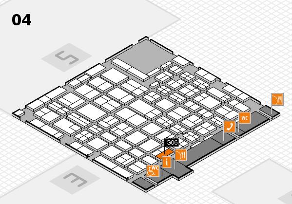 MEDICA 2016 hall map (Hall 4): stand G06