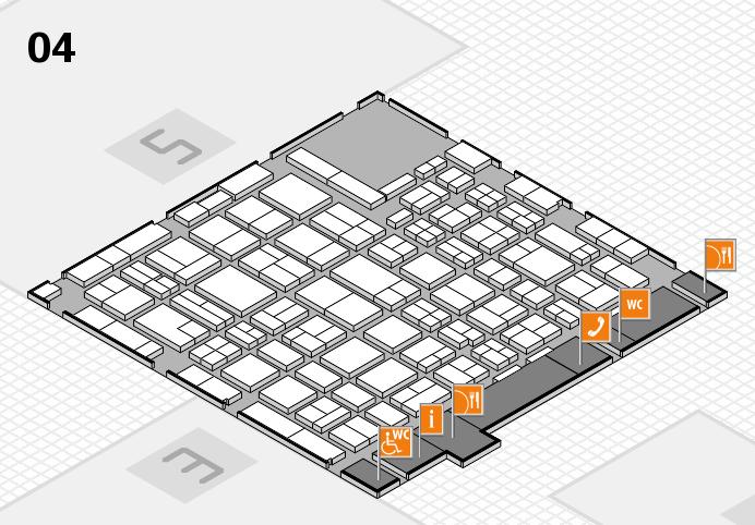 MEDICA 2016 hall map (Hall 4): stand D47