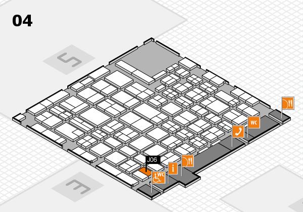 MEDICA 2016 hall map (Hall 4): stand J06