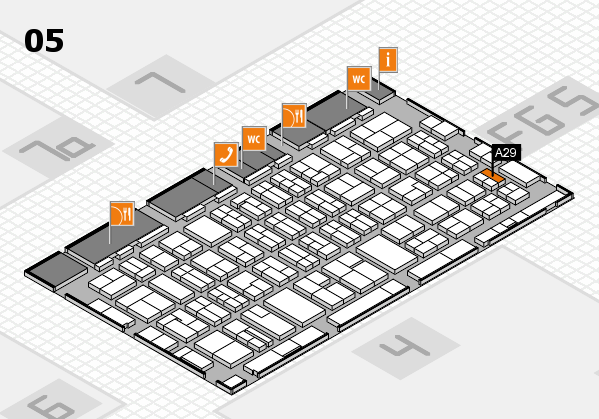 MEDICA 2016 hall map (Hall 5): stand A29