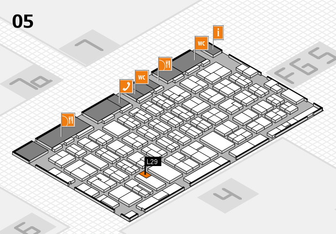 MEDICA 2016 hall map (Hall 5): stand L29