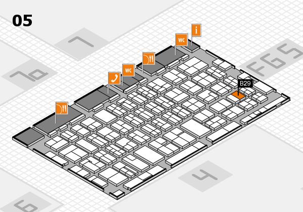 MEDICA 2016 hall map (Hall 5): stand B29