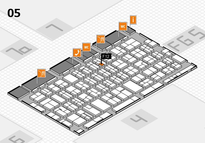 MEDICA 2016 Hallenplan (Halle 5): Stand F12