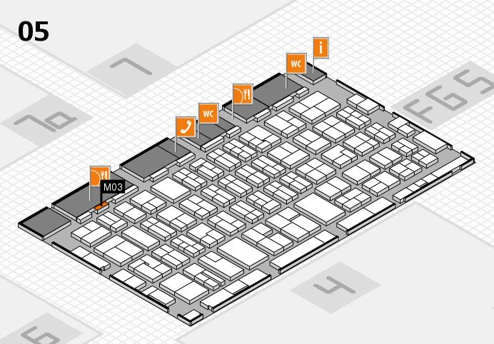MEDICA 2016 hall map (Hall 5): stand M03