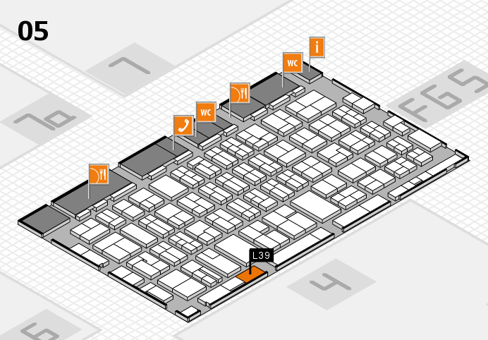 MEDICA 2016 hall map (Hall 5): stand L39