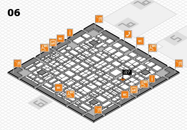 MEDICA 2016 hall map (Hall 6): stand J27