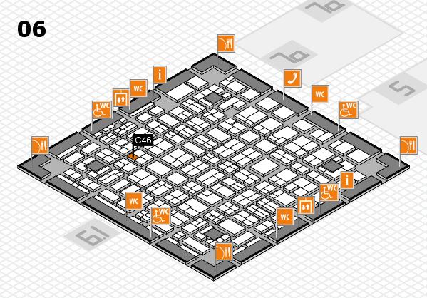 MEDICA 2016 hall map (Hall 6): stand C46