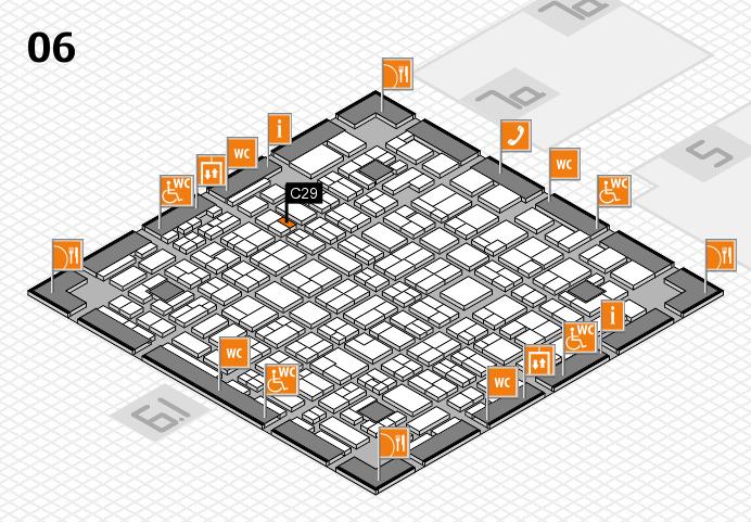 MEDICA 2016 hall map (Hall 6): stand C29