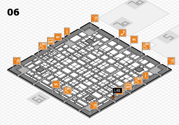 MEDICA 2016 hall map (Hall 6): stand L48