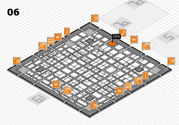 MEDICA 2016 hall map (Hall 6): stand D04
