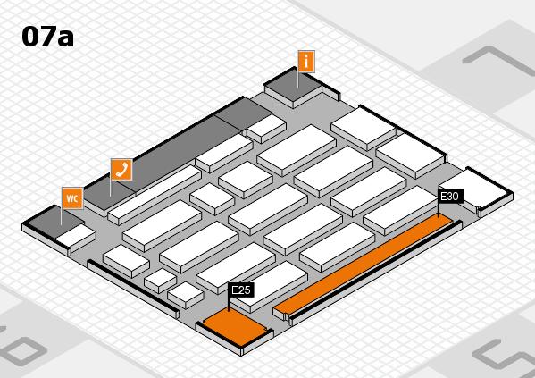 MEDICA 2016 Hallenplan (Halle 7a): Stand E25, Stand E30