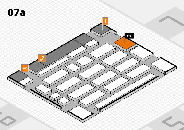 MEDICA 2016 hall map (Hall 7a): stand B06
