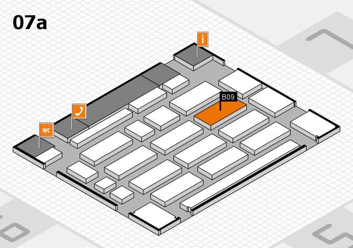 MEDICA 2016 hall map (Hall 7a): stand B09