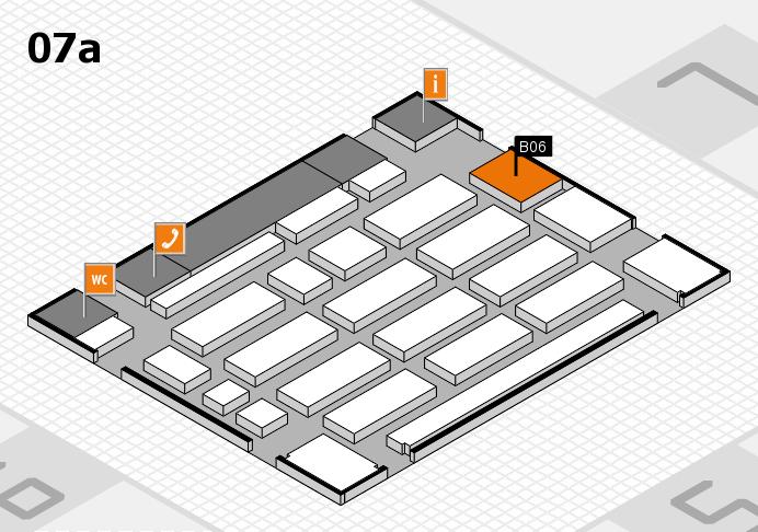 MEDICA 2016 Hallenplan (Halle 7a): Stand B06