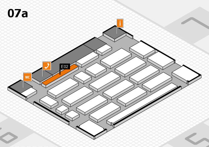 MEDICA 2016 Hallenplan (Halle 7a): Stand E02