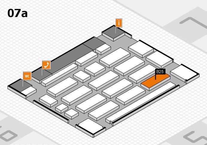 MEDICA 2016 Hallenplan (Halle 7a): Stand B25
