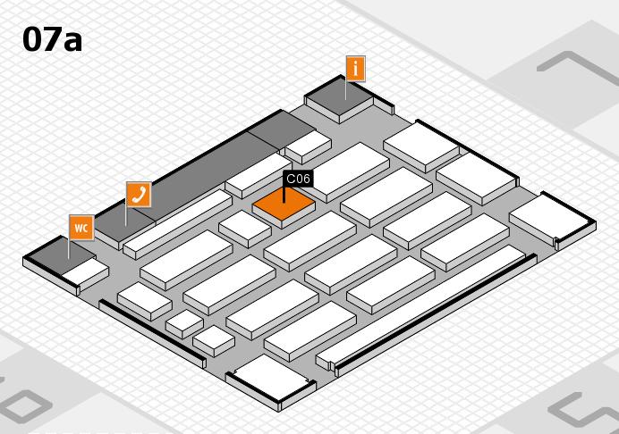 MEDICA 2016 Hallenplan (Halle 7a): Stand C06
