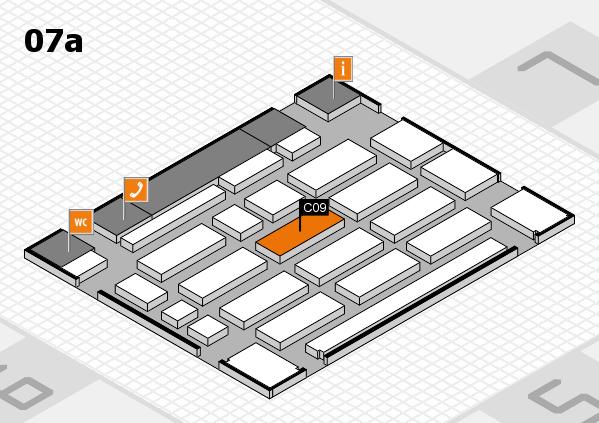 MEDICA 2016 Hallenplan (Halle 7a): Stand C09