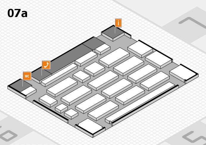MEDICA 2016 hall map (Hall 7a): stand C01