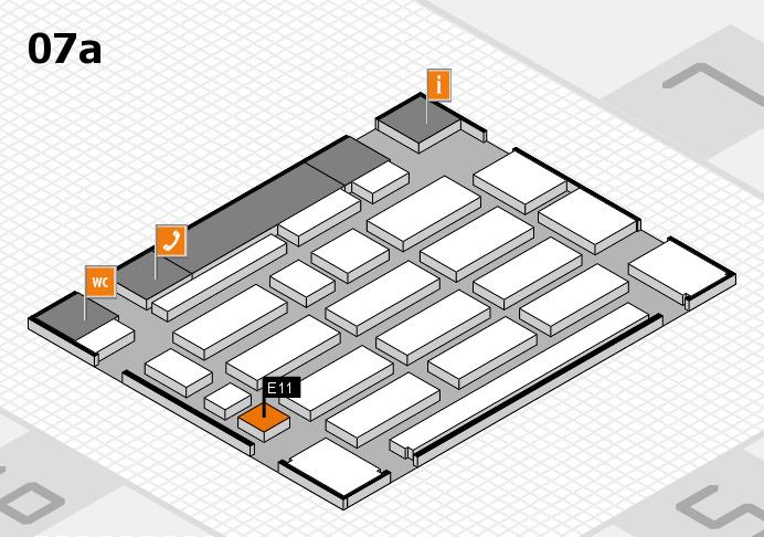 MEDICA 2016 Hallenplan (Halle 7a): Stand E11