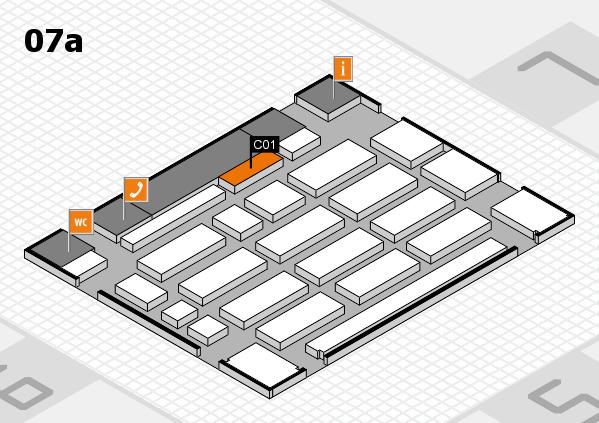 MEDICA 2016 Hallenplan (Halle 7a): Stand C01