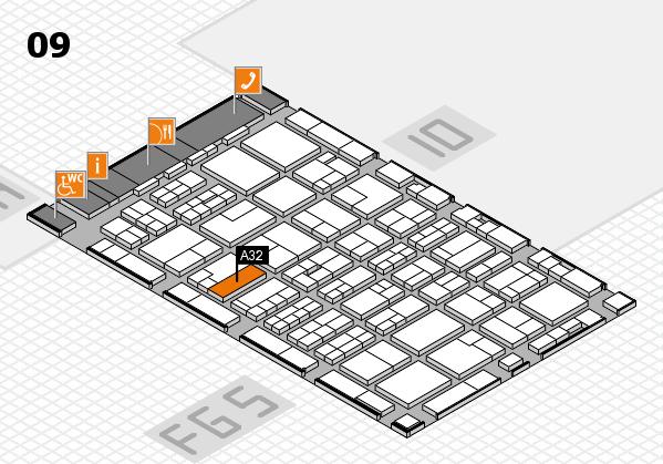 MEDICA 2016 Hallenplan (Halle 9): Stand A32