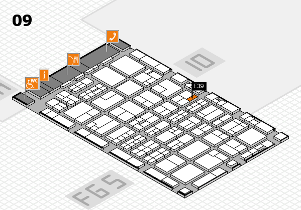 MEDICA 2016 Hallenplan (Halle 9): Stand E39