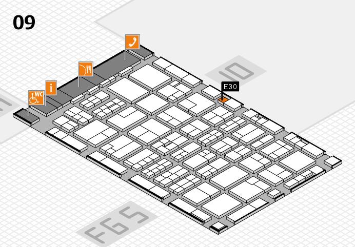 MEDICA 2016 Hallenplan (Halle 9): Stand E30