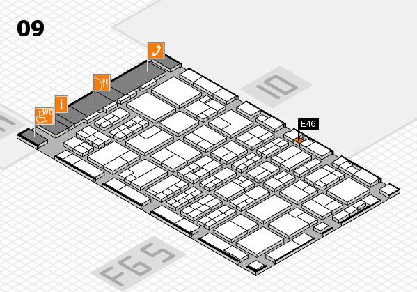 MEDICA 2016 Hallenplan (Halle 9): Stand E46